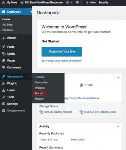 Navigation and Widgets – Design & Web Services